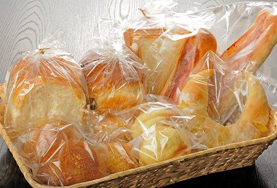 「マリー」のパン販売